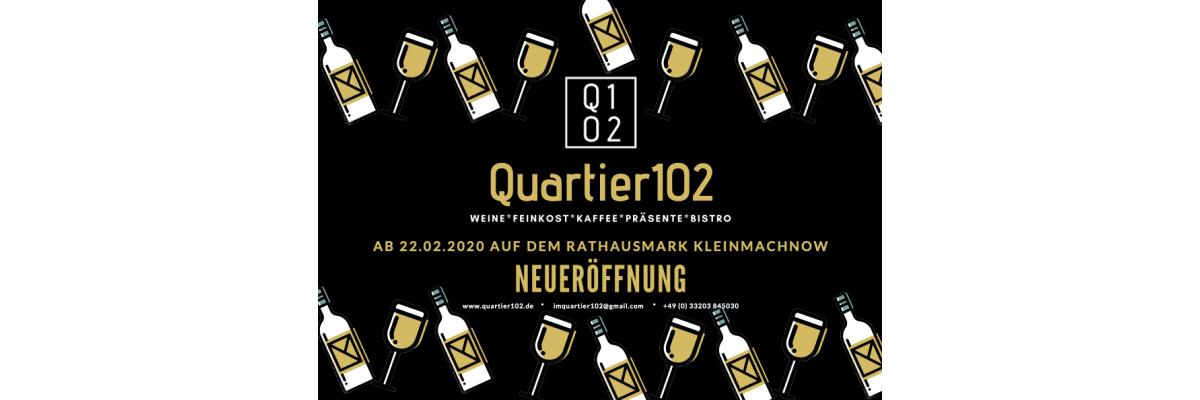 Eröffnung vom Quartier102 - Das Quartier102 öffnet seine Tore