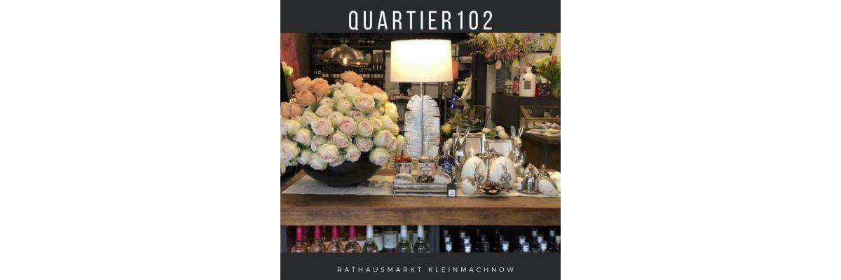 Das Quartier102 feiert 1-jähriges - Q102 - Ein Jahr nach der Eröffnung
