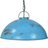 Deckenlampe antik Blau