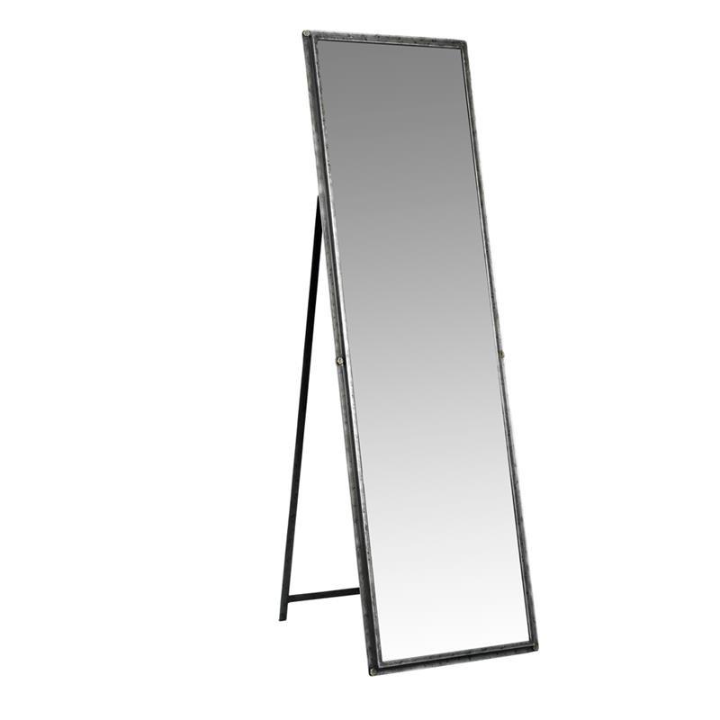 Standspiegel mit Eisenrahmen H169cm