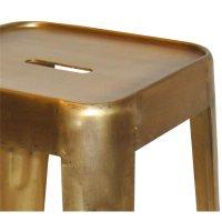 Barhocker Metall Gold