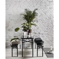 Gartengarnitur Tisch und Bänke Nordal