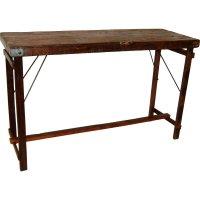 Kopie von Rustikaler Tisch Holz