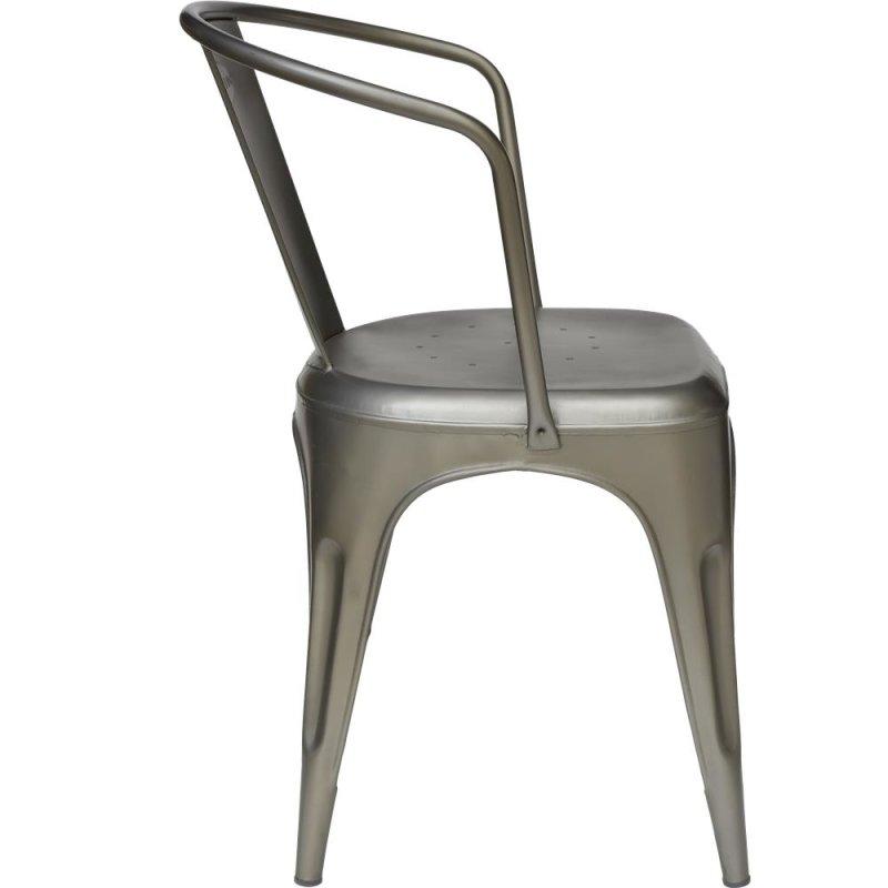 Living Stuhl - Eisen matt
