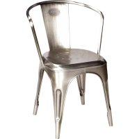 Living Stuhl Eisen glanz