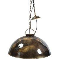 Deckenlampe im Industriestil Braun