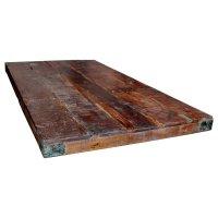 Tischplatte aus Recyclingholz 150x80cm