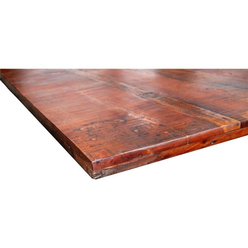 Tischplatte aus Recyclingholz 200x100cm