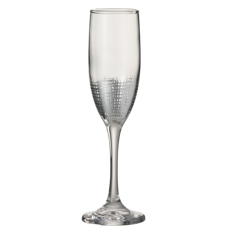 CHAMP Glas GITTER Glas SIL/TRA (7x7x22cm)