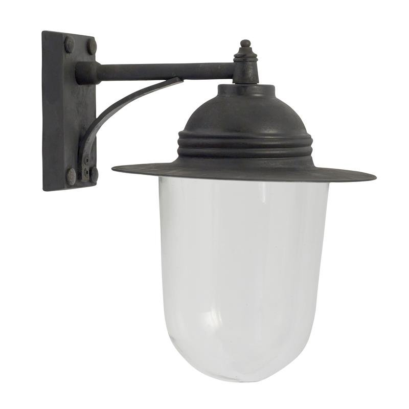 Outdoor Lampe antik Schwarz