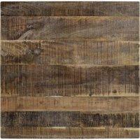Tischplatte aus Mangoholz 70x70cm