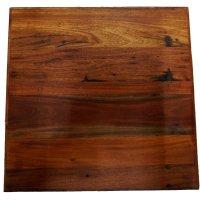 Rustikale Tischplatte 60x60cm