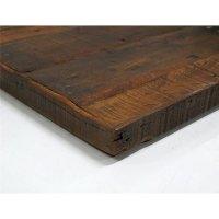 Tischplatte aus Recycling Teakholz 130x70x4cm