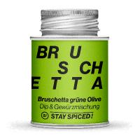Bruschetta grüne Olive in 170ml Schraubdose